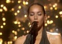 Leona Lewis Runs to The X Factor Finale Stage