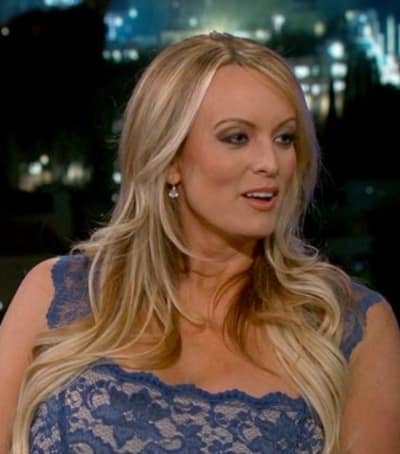 Stormy Daniels on Jimmy Kimmel Live