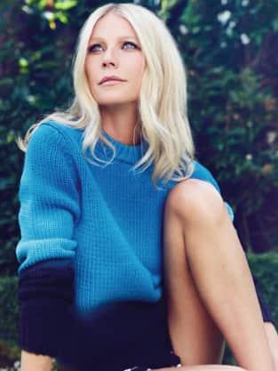 Contemplative Gwyneth Paltrow