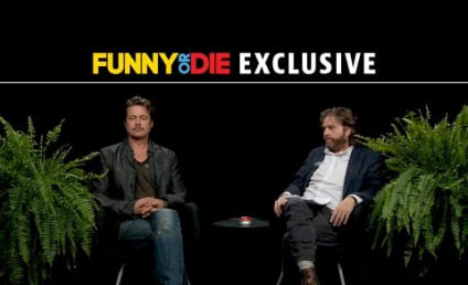 Zach Galifianakis to Brad Pitt: Does It Suck That Your Wife is More Famous?