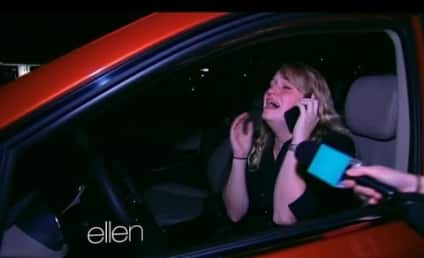Waitress Who Bought Meal For Furloughed Officers Gets Free CAR From Ellen