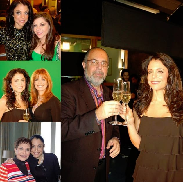 Jill Zarin Made a Bethenny Frankel Collage
