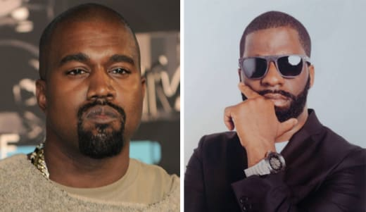 Kanye West and Rhymefest split