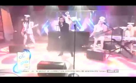 Corey Feldman Today Show Performance