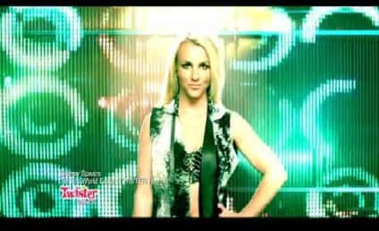 Britney Spears Twister Commercial: Dance Till The World Ends!