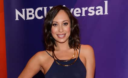Cheryl Burke Apologizes for Insulting Ian Ziering... Sort Of