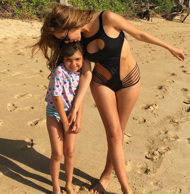 Farrah and sophia abraham in hawaii
