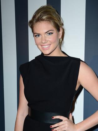 Kate Upton in Black