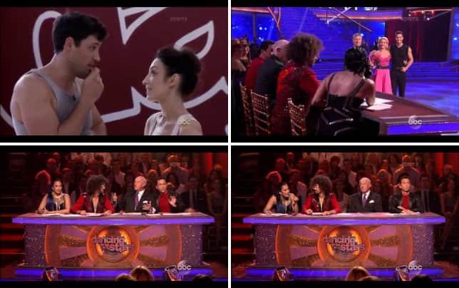 Meryl davis and maksim chmerkovskiy tango week 6