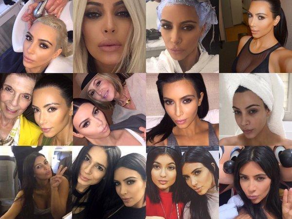 So... Many... Selfies