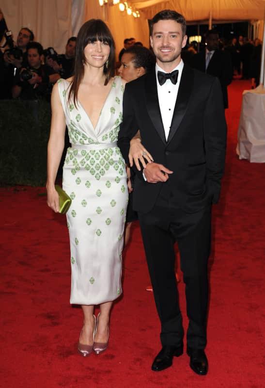 Justin Timberlake and Jessica Biel Picture