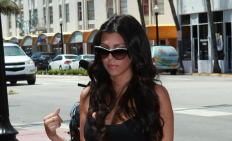 Kourtney Strolls