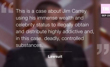 Jim Carrey Accused of Giving Cathriona White Fatal Drugs