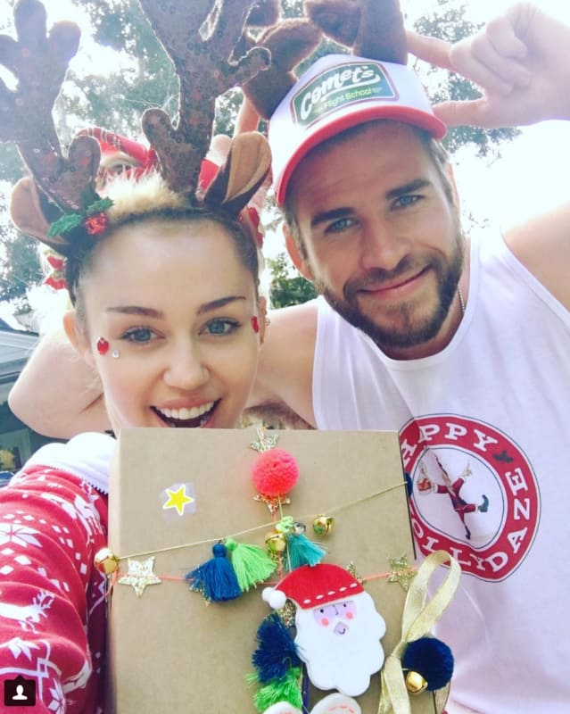 Miley & Liam: Together Again!
