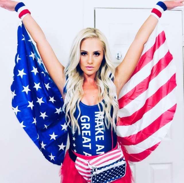 Tomi Lahren as...The Flag?