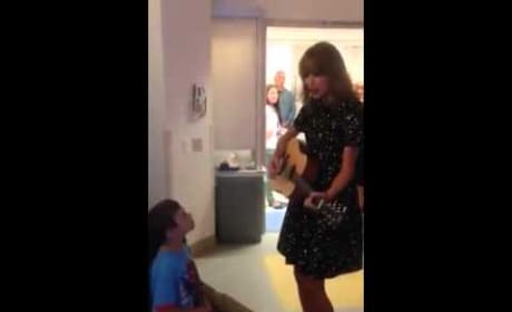 Taylor Swift Duets With Young Leukemia Patient
