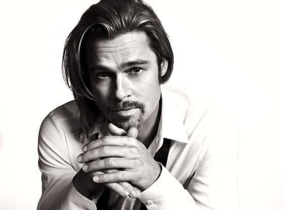 Brad Pitt, Chanel No. 5