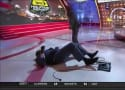 Shaquille O'Neal Takes EPIC Tumble on Set of Inside the NBA