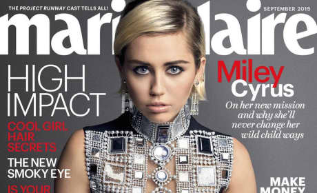Miley Cyrus Marie Claire Photo