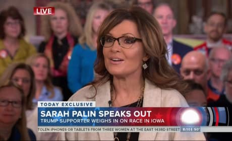 Sarah Palin on Today