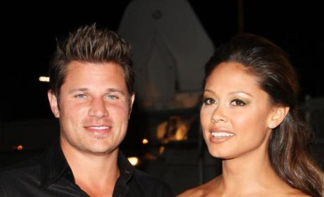Nick Lachey and Vanessa Minnillo Photo