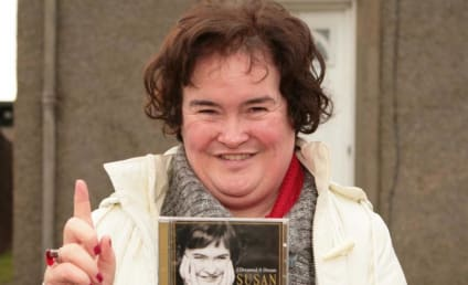 She's Number-One! Susan Boyle Dominates Album Charts