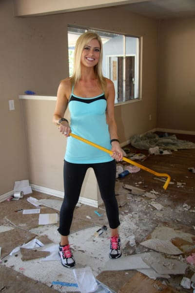 Christina El Moussa Inside a House