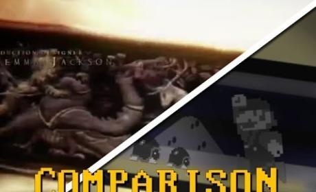 Game of Thrones-Super Mario Comparison