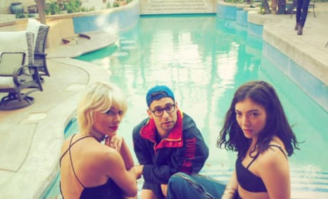 Taylor Swift, Lorde, Jack Antonoff Coachella 2016