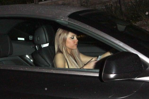 Amanda Bynes at the Wheel