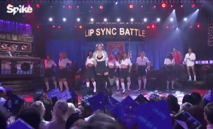 Kate Upton Performs as Britney Spears, Inspires Nostalgic Erections