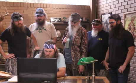 Duck Dynasty Premiere Pic