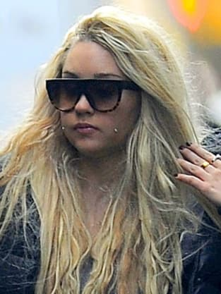 Amanda Bynes in NYC