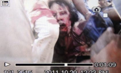 Moammar Gadhafi Death Photo, Video Released