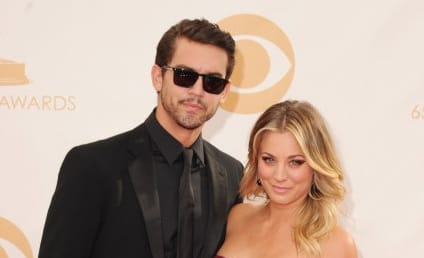 Kaley Cuoco: Dating Ryan Sweeting, Looking Hot in Emmys Dress
