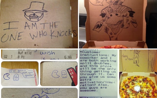 19 pieces of pizza box art i am the one who knocks