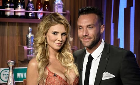 Brandi Glanville And Callum Best On Watch What Happens Live