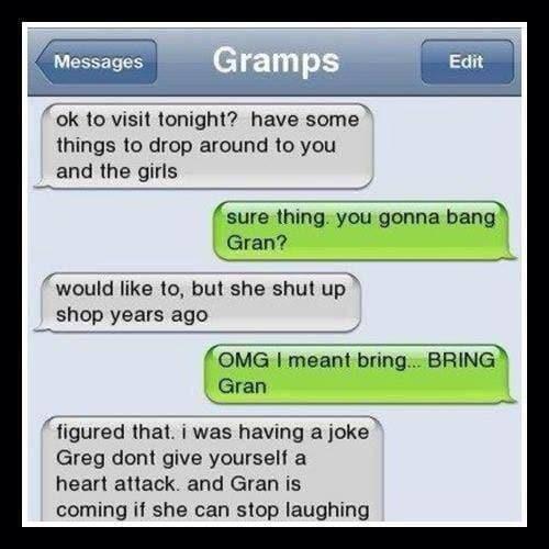 TMI, Gramps