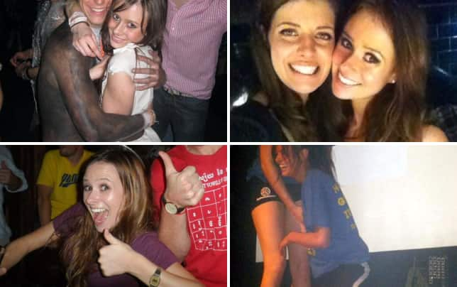 Camilla thurlow partying