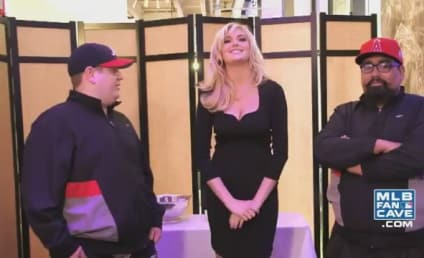 Kate Upton Dances in MLB Fan Cave