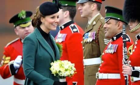 Kate Middleton on St. Patrick's Day