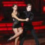 Maria Menounos and Derek Hough Dancing