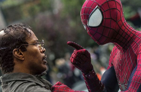 Spider-Man and Max Dillon Photo