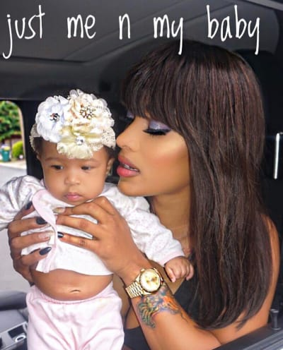 Joseline Hernandez and Her Child