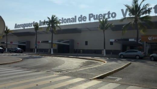 Andrew Kenton at Puerto Vallarta airport
