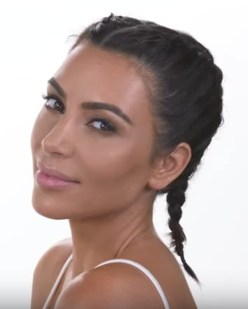Kim Kardashian on Patrick Starrr's YouTube Channel
