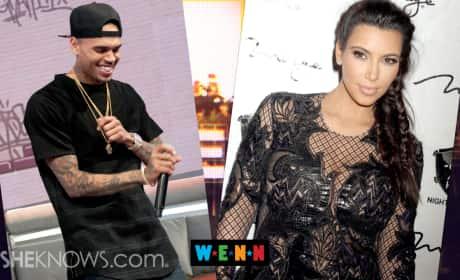 Kim Kardashian Cheated with Chris Brown?