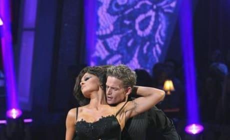 Pam and Damian Dancing