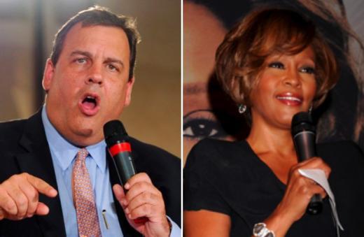 Chris Christie-Whitney Houston