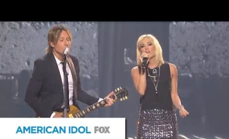 Carrie Underwood and Keith Urban Duet
